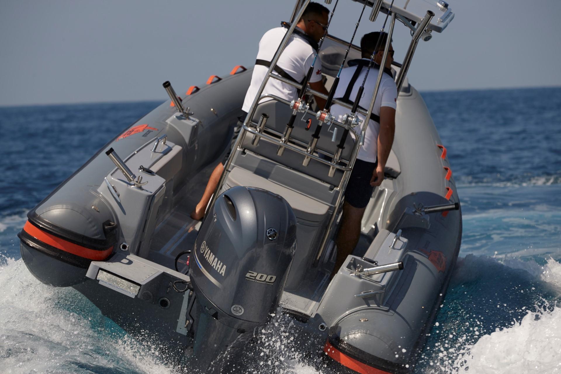 Joker Boat Barracuda rear view