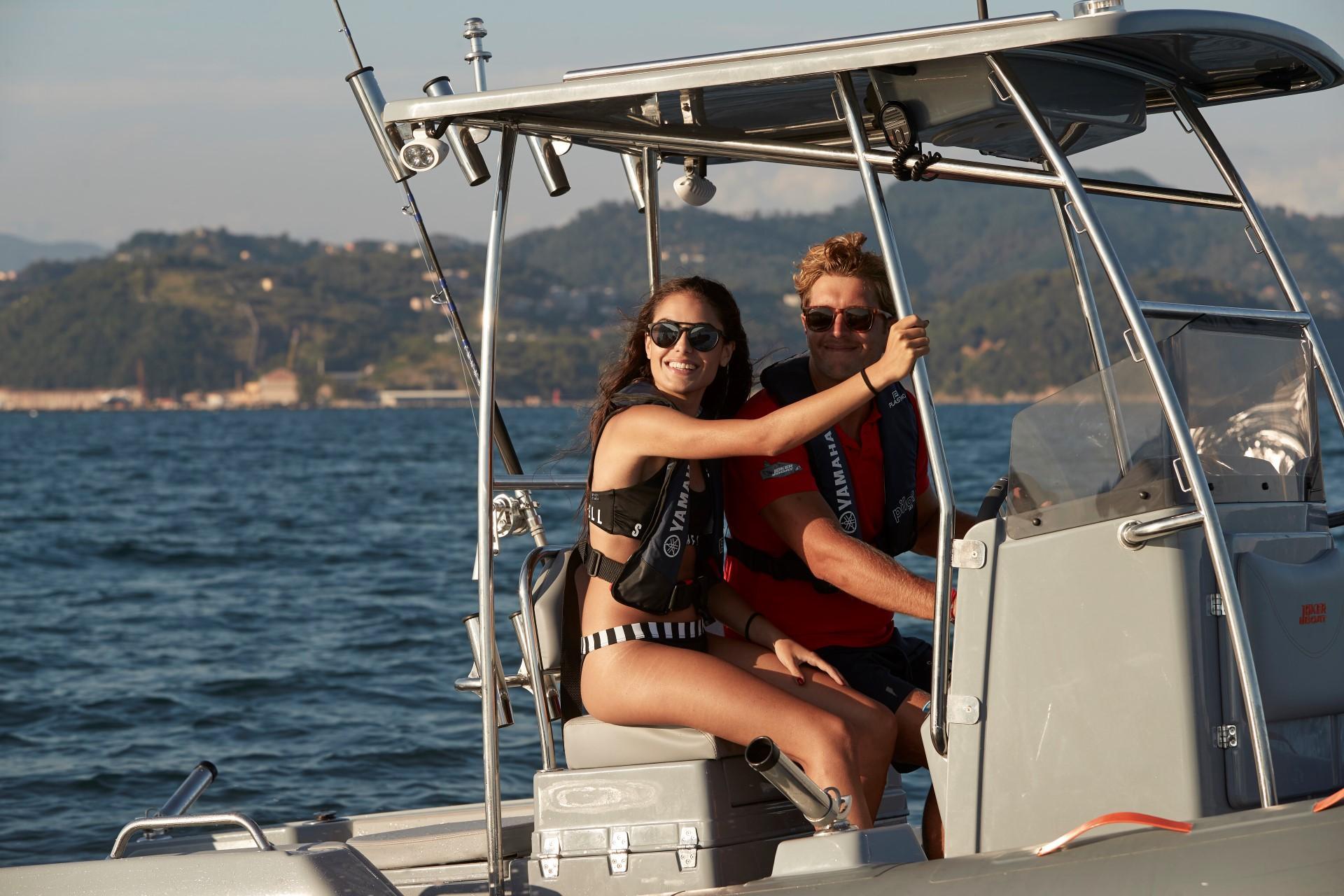 Joker Boat Barracuda fishing