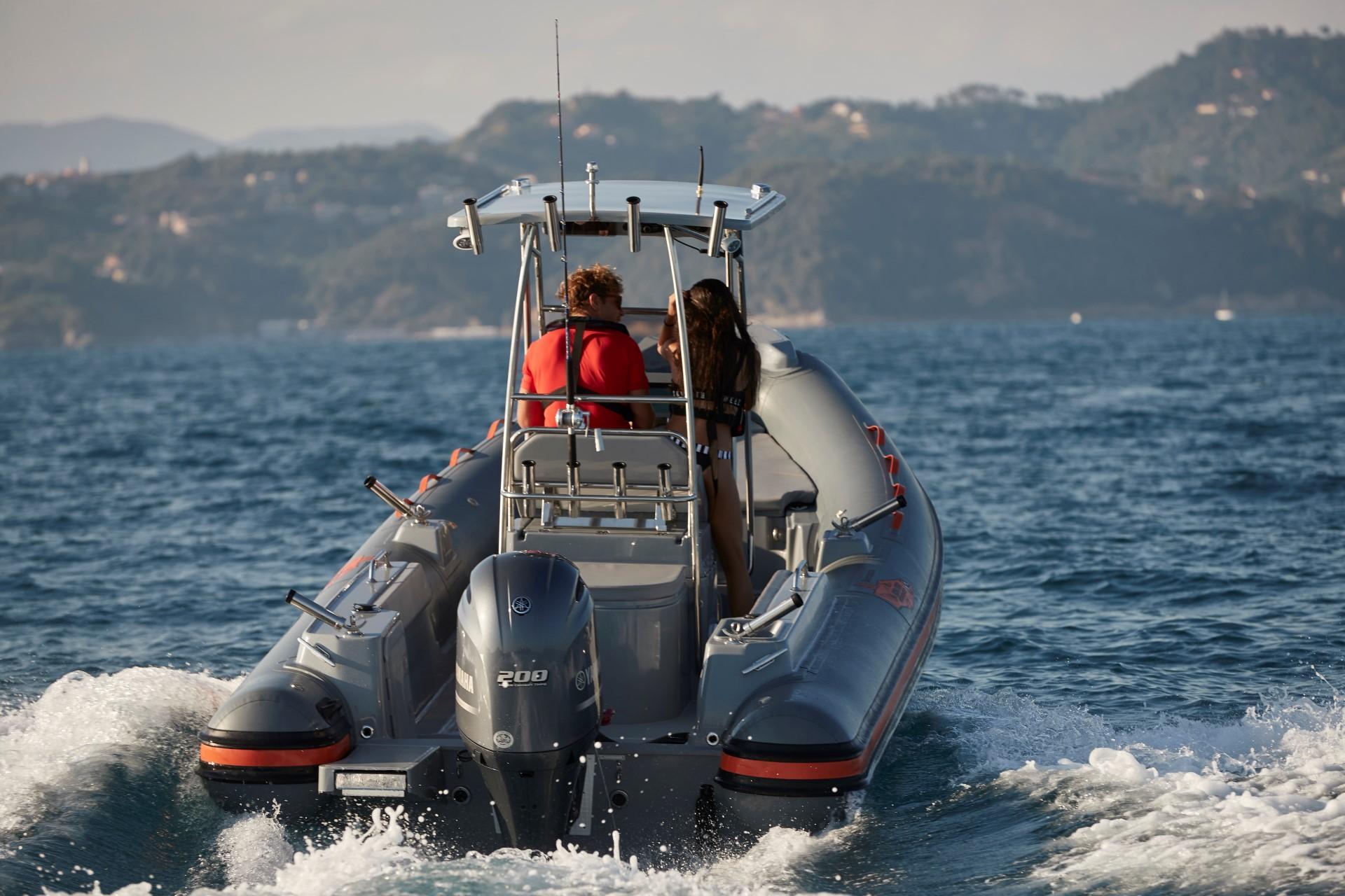 Joker Boat Barracuda driving