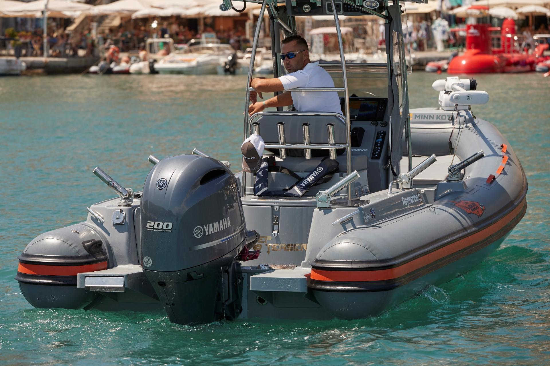 Joker Boat Barracuda aft