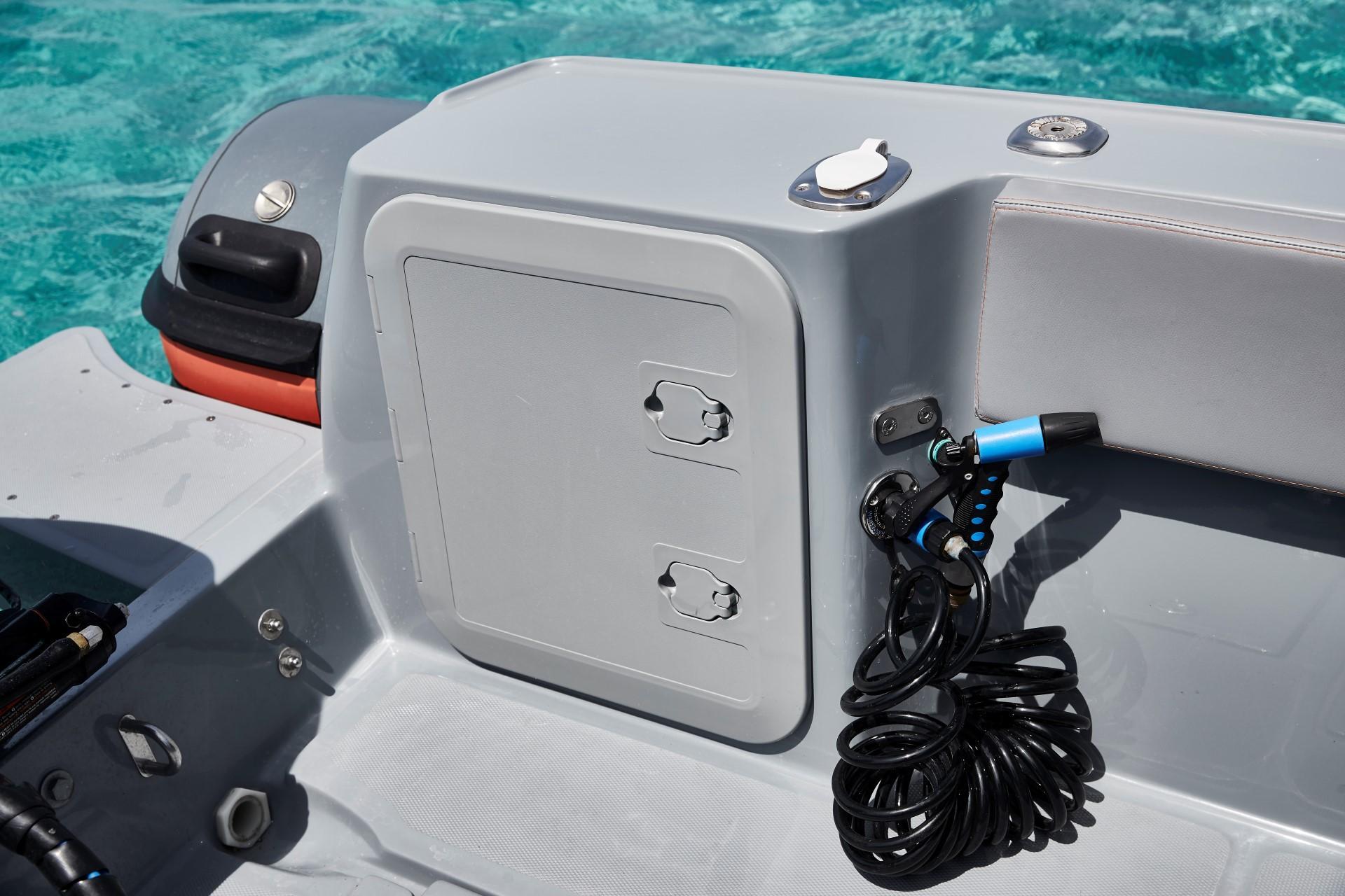 Joker Boat Barracuda high pressure deck wash
