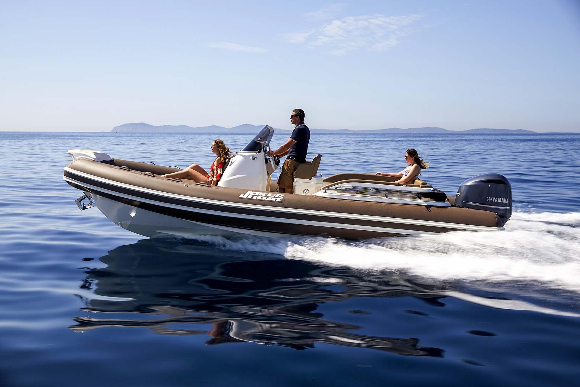 Joker Boat Clubman 24 driving