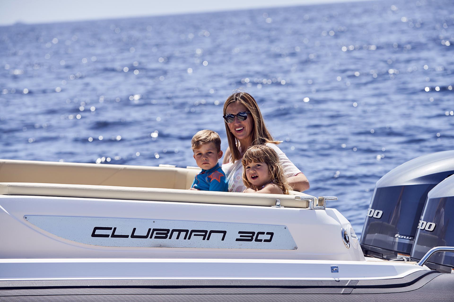 Joker Boat Clubman 30 aft