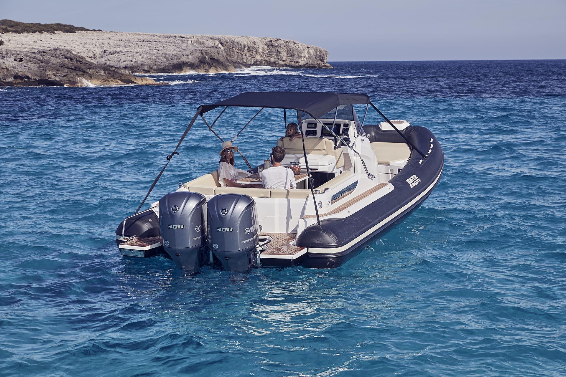 Joker Boat Clubman 30 bimini top